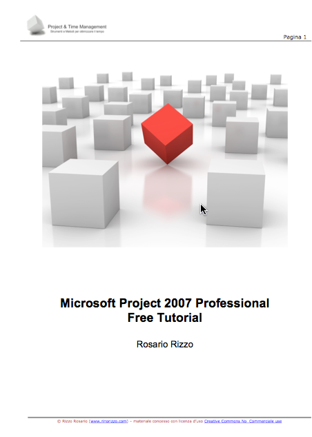Manuale italiano di Microsoft Project 2007 Professional