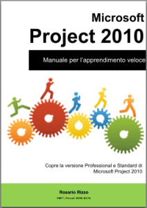 Copertina eBook manuale di MS Project 2010