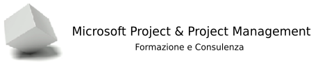 Microsoft Project e Project Management Logo